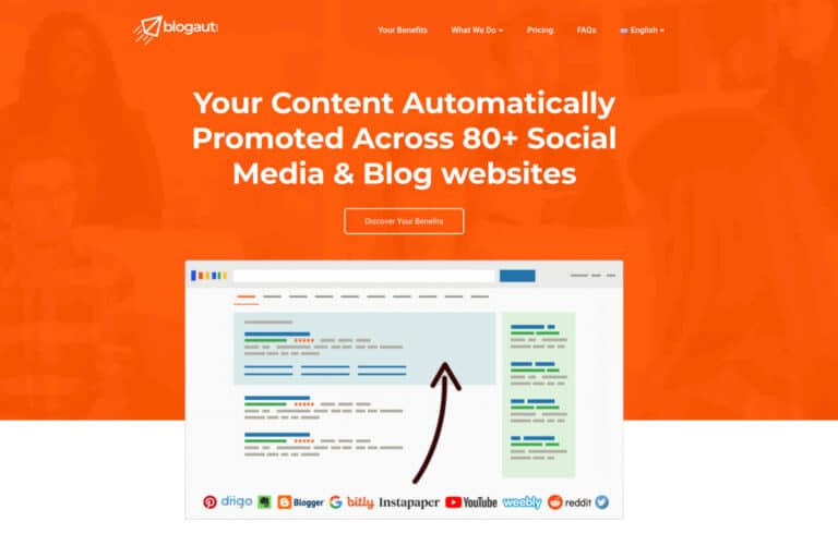 Blogaut.com er en wordpress hjemmeside udviklet på flere sprog
