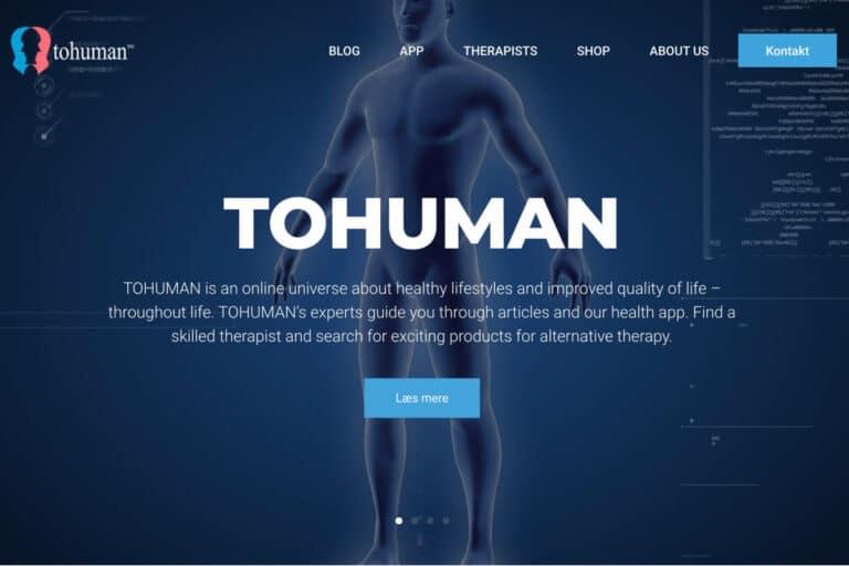 Ny professionel WordPress hjemmeside